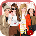 Autumn fashion game for girls icon
