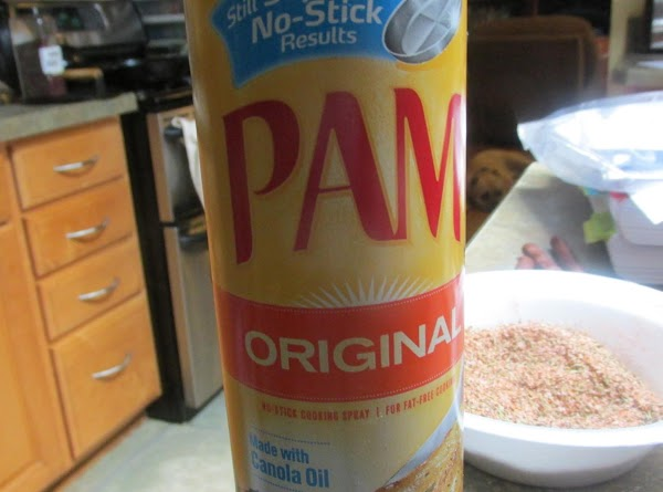 Spray roast with non stick cooking spray, or you can use olive or canola...