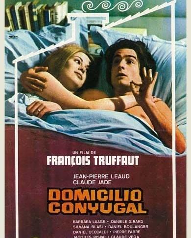 Domicilio conyugal (1970, François Truffaut)