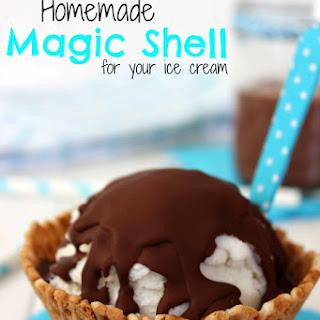 Homemade Magic Shell Recipe for Ice Cream Recipe