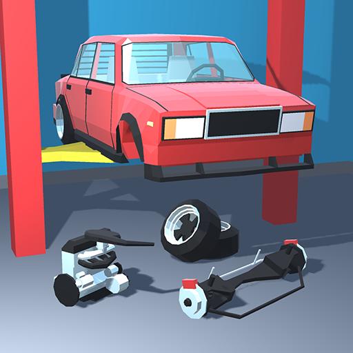 Retro Garage - Car Mechanic Simulator apk modded file