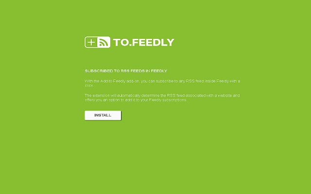 Add to Feedly™