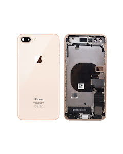 iPhone 8 Plus Housing with small parts Original Pulled Gold