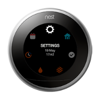 Nest thermostat quick view settings