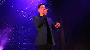 Manu García presentando su nuevo disco \'Sonríe\'.