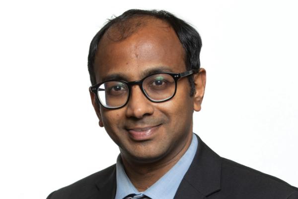 Deepak Ravindran, MD, advisor for Curable