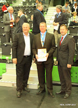 Photo: CORP 2012 Opening: Christoph Matznetter (Vice President Austrian Economic Chamber), Manfred Schrenk (conference director), Hannes Fazekas (Mayor of Schwechat and Member of Parliament)