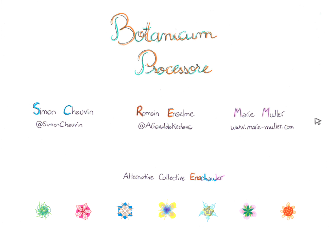 Botanicum Processore- screenshot