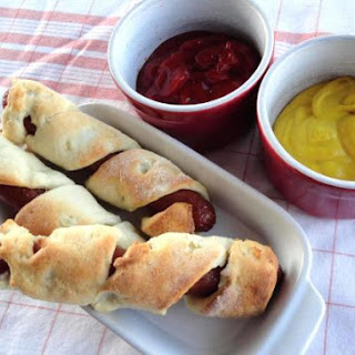 Homemade Pigs in a Blanket.