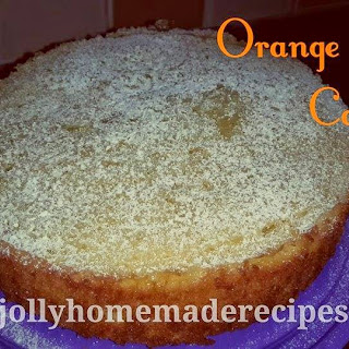 Orange Chiffon Cake, Orange Cake