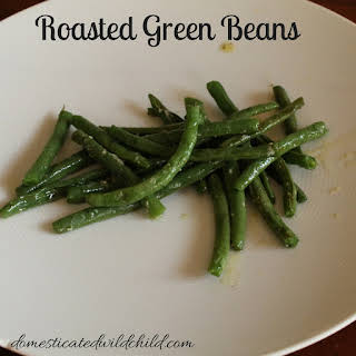 Roasted Green Beans.
