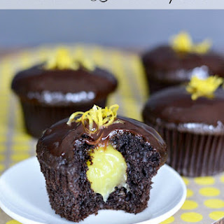 Chocolate Lemon Cupcakes.