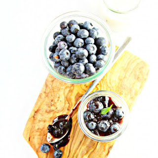 Blueberry Balsamic Panna Cotta Recipe