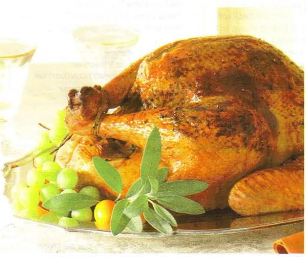 Sage-orange Turkey & White Wine Gravy Recipe