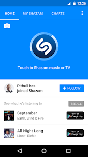Shazam- screenshot thumbnail