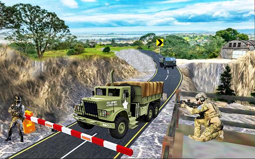 Army Transport Truck Driver : Military Games 2019 apkmind screenshots 4