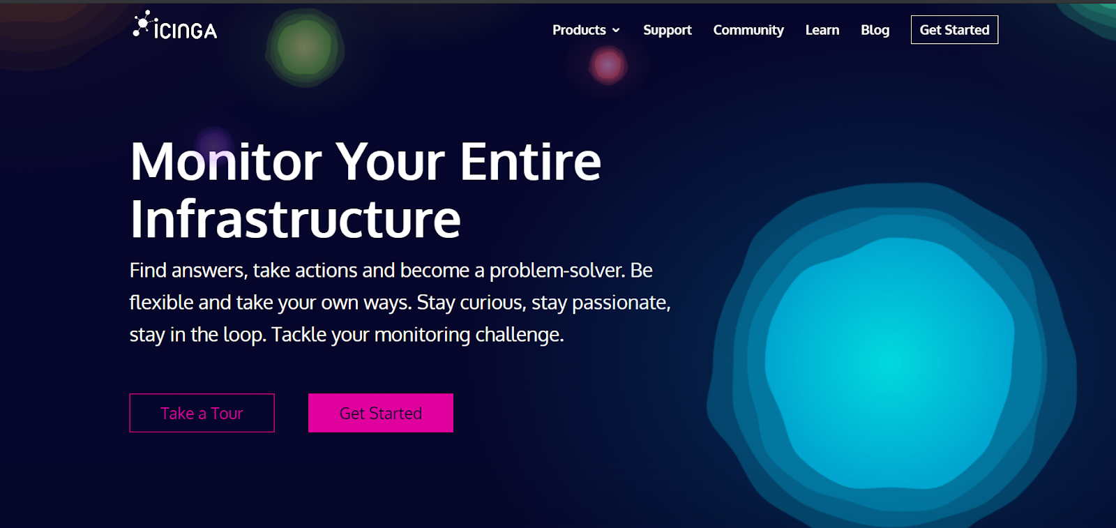 Icinga Server monitoring software