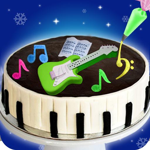 DIY Birthday Piano Cake Maker! Music Wedding Cakes (game)