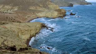Imagen de Cala Carbón de la web oficial de Turismo del Ayuntamiento de Níjar.