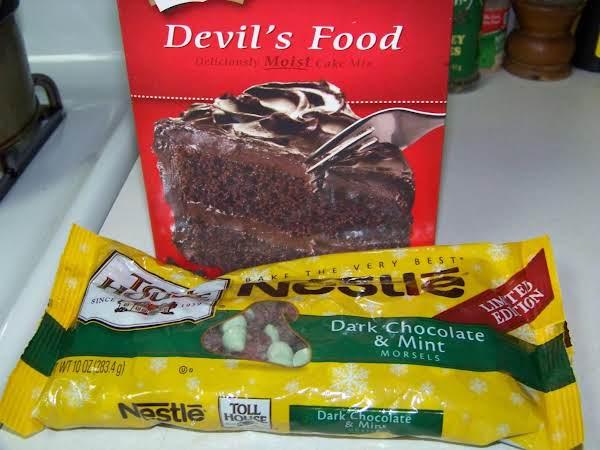 Chocolate Mint Cake Recipe