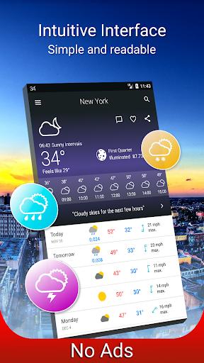 Weather 14 days Pro screenshots 1