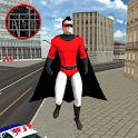 Flying SuperHero Rope Vegas Rescue icon