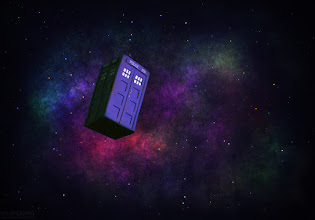 """Photo: My mind kinda went blank for this week's theme (Doctor Who), despite being a fan of the show. This was the best I could come up with, the alternative being """"eh, I'll skip this week"""""""