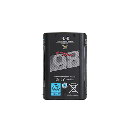 DUO-C98 98Wh V-Mount Battery with D-Tap and USB
