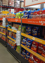 Photo: Chips, Chips, Chips! The biggest bags and lots of variety. No party is complete without chips and dip.