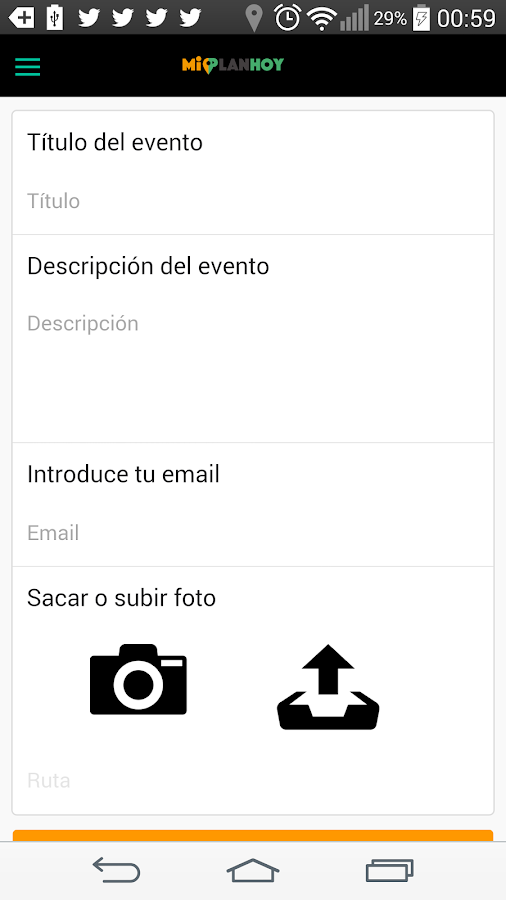 Mi Plan Hoy- screenshot