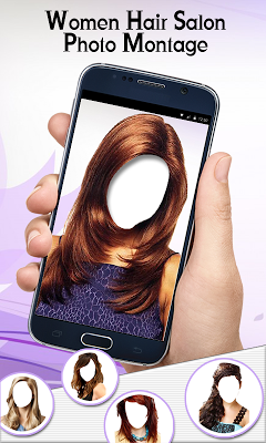 Women Hair Salon Photo Montage - screenshot