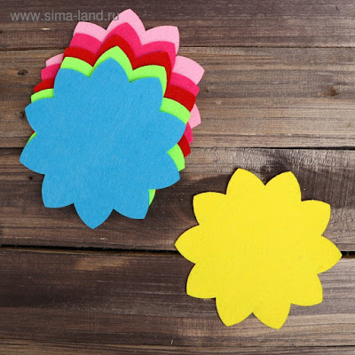 Основа для творчества и декорирования «Цветочек», набор 2 шт., цвета МИКС