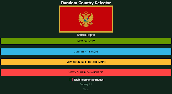 Download Random Country Selector APK latest version app for android