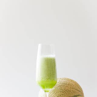 Melon Cucumber Mint Smoothie.