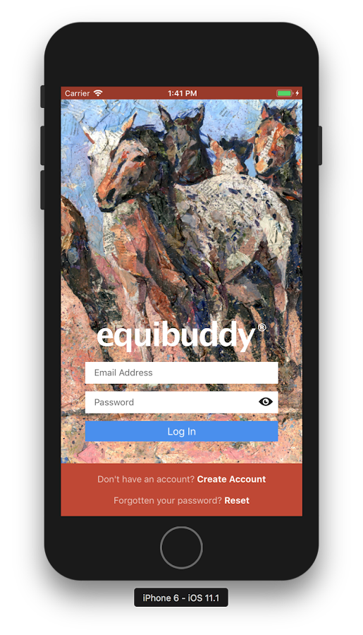 Equibuddy - A Toolkit for the Horse Community- screenshot
