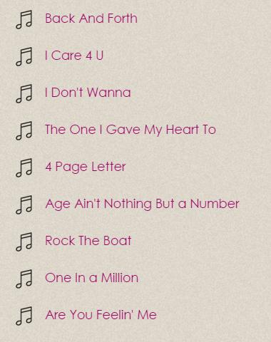 Download Aaliyah Lyrics Google Play softwares a4pnteGZptZF