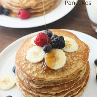 5 minute Whole Wheat Pancakes