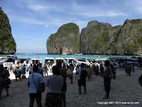 Photo: The Beach, during tourist season.
