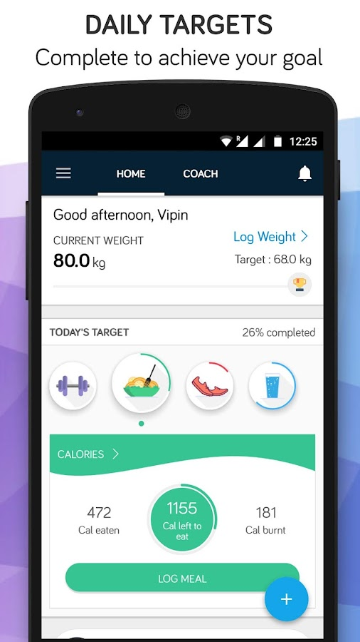 Weight Loss, Running & Fitness Coach - Fitso- screenshot