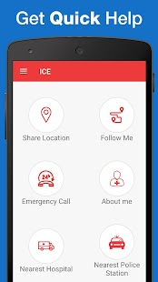 ICE : Personal Safety App- screenshot thumbnail