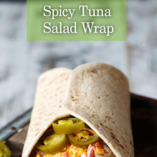 Spicy Tuna Salad Wrap
