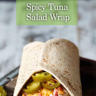 Spicy Tuna Salad Wrap.