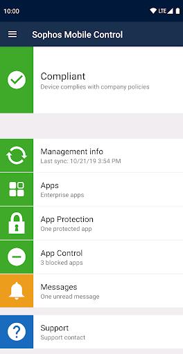 Sophos Mobile Control screenshot 2