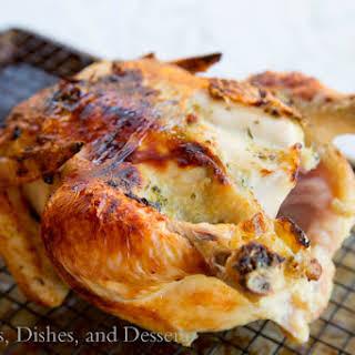 Easy Roast Chicken.