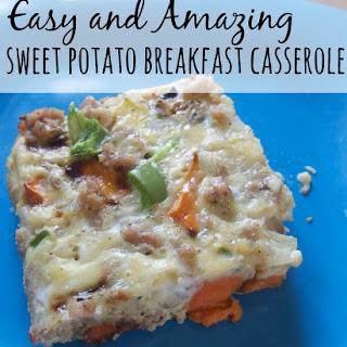Sweet Potato Breakfast Casserole - Dairy and Wheat Free Recipe
