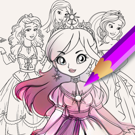 Princess Coloring Book For Girl Aplikacije Na Google Playu