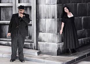 Photo: Salzburger Osterfestspiele 2015: CAVALLERIA RUSTICANA. Premiere 28.3.2015, Inszenierung: Philipp Stölzl. Ambrogio Maestri, Liudmilla Monastyrska. Copyright: Barbara Zeininger