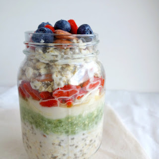 Superfood Overnight Oats.