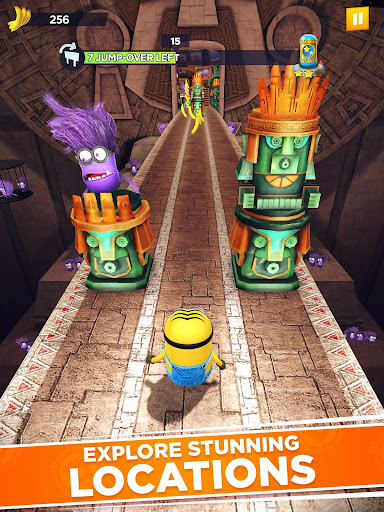 Minion Rush: Despicable Me Official Game apkpoly screenshots 11