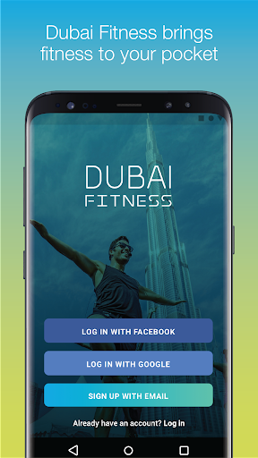 Dubai Fitness Fitness app screenshot 1 for Android